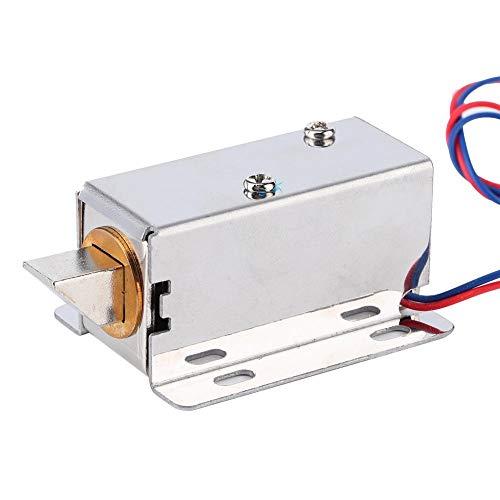 Elektromagnetische Verriegelung, DC 12V Mini-Baugruppe Kit für elektromagnetische Verriegelung Hardware für Türfenster-Schublade Elektrisches Magnetschloss Elektrisches Türschloss Magnetschloss Elektr