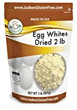 Judee's Dried Egg White Protein 2 lb - Baking, Meringue, Royal Icing, Smoothies. 4g Protei...