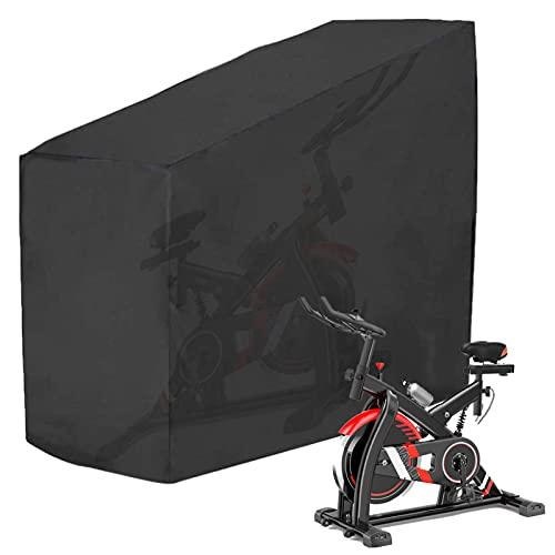 Funda protectora para bicicleta de fitness o bicicleta de 210D, tela Oxford resistente al agua, a los rayos UV y al polvo, ideal para la protección interior y exterior (140 x 60 x 120/160 cm)
