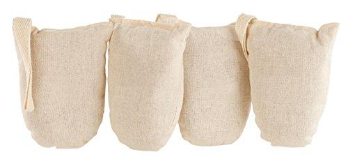 Newgen Medicals Schuherfrischer: Ökologische Schuh-Erfrischer aus Baumwolle und Zedernholz, 4er-Set (Schuhdeo)