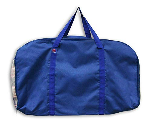 """Western All-Around Carry Bag by Kensington — 20""""L x 34""""w x 5""""D Nylon Carry Bag with Textilene Mesh for Breathability — Water-Resistant and Mildew-Proof, Patriot Plaid"""