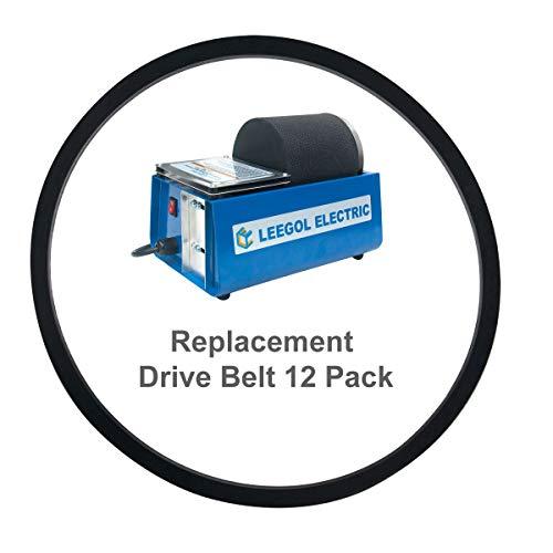 Leegol Electric Rock Tumbler Replacement Drive Belt 12 Pack