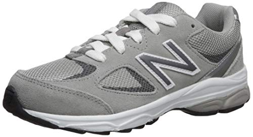 New Balance Kids 888 V2 Lace-Up Running Shoe, Grey, 5 W US Big Kid