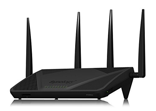 Synology RT2600AC router Gigabit, Wi-Fi, AC 2600