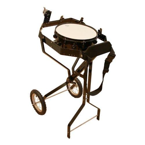Schlagzeugwagen für 4 Toms, mit Snare, Hi-Hat Rosette