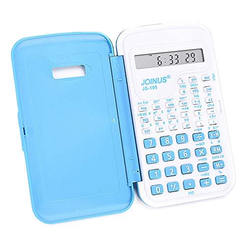 Wetenschappelijke rekenmachine, 10-cijferige rekenmachine met batterij-energie, geschikt voor studenten van bachilerat en universiteit. random color