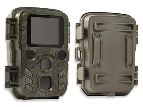 Technaxx Mini Nature Wild Cam TX-117 - Wildkamera mit Infrarot-Nachtsicht, Outdoor, Garten, Hausüberwachung, Tierbeobachtung, Foto, Video, Nachtaufnahmen, Lautsprecher, Mikrofon.