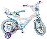 Disney - Bicicletta per Bambina, 14', Motivo: Frozen, 4-7 Anni