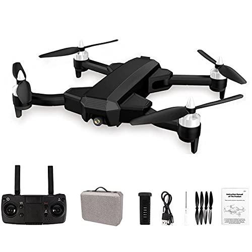GZTYLQQ Drone 4K con cámara UHD para Adultos, cuadricóptero GPS fácil para Principiantes con 25 Minutos de Tiempo de Vuelo