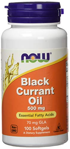 Now Foods Black Currant Oil 500 mg Standard, 100 Kapseln
