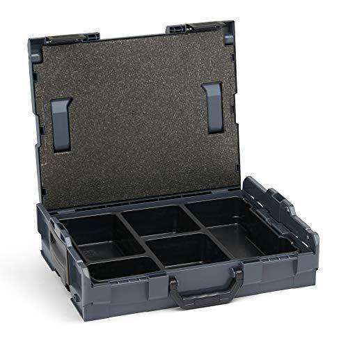 Bosch Sortimo L-Boxx 102 anthrazit mit Einsatz 5-fach