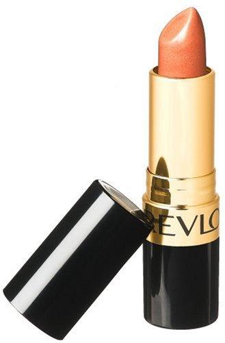 revlon champagnes Revlon Super Lustrous Lipstick with Vitamin E and Avocado Oil, Pearl Lipstick in Nude, 205 Champagne on Ice, 0.15 oz (Pack of 2)