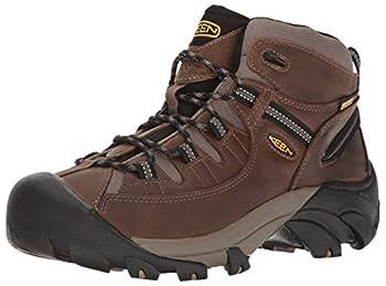 KEEN Men s Targhee II Mid Wide Hiking Shoe Shiitake/Brindle 10 W US