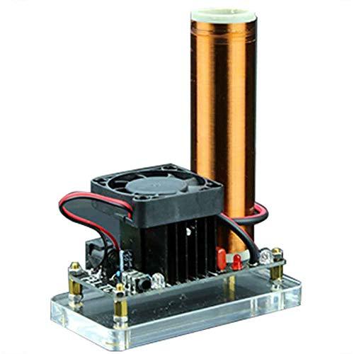 XFY Mini Tesla Spule Coil Kit, DIY Kits Plasma Lautsprecher, Lernen Bildung Experiment Modell Geschenk, für Die Drahtlose Übertragung Experimente