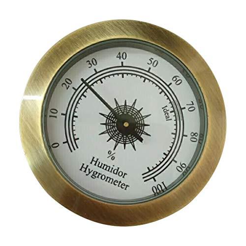 Runder Analog-Hygrometer für Zigarren-Humidor-Gitarrenschränke 50 mm Durchmesser, One Size, C