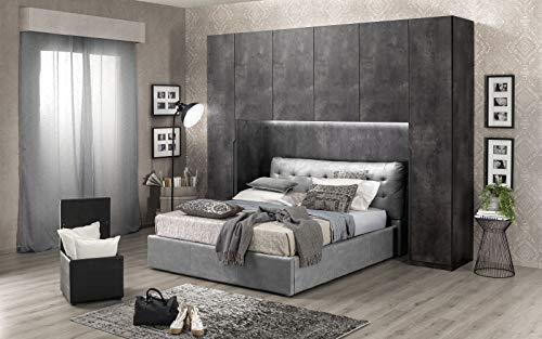 Dafnedesign.Com - Puente de 6 puertas oxidado - No incluye la cama (cm. 319 x 60 x 250 h
