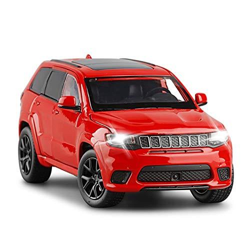 HCEB Coche de fundición a presión 1:32 para Grand For Cherokee Die Mira Modelo de aleación Modelo Coleccionables Cars to-y Cumpleaños Presente Niño Juguetes (Color : 3)