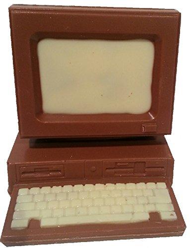 05#121920 Schokolade Computer klein, Vollmilch, Schokolade, PC, Technik, Schule, Weihnachten, Geschenk, Büro,