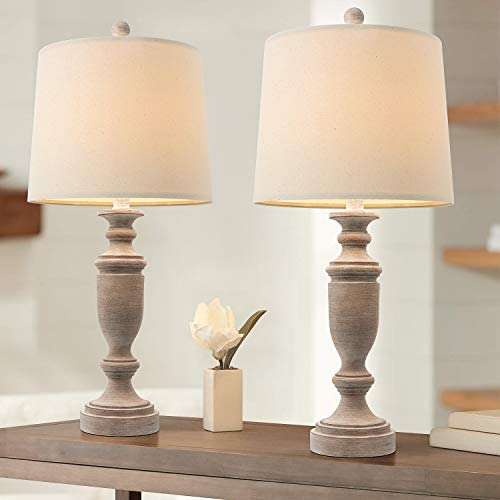 PORTRES Table Lamp Set of 2 for Bedroom Table Desk Lamps for Living Room Kids Room Study Room product image