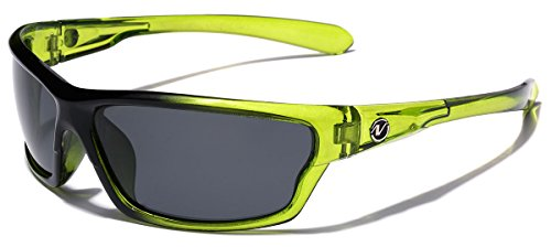 Polarized Wrap Around Sport Sunglasses