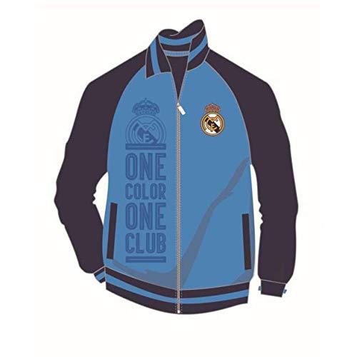 Real Madrid - Embossed Track Jacket (Medium)