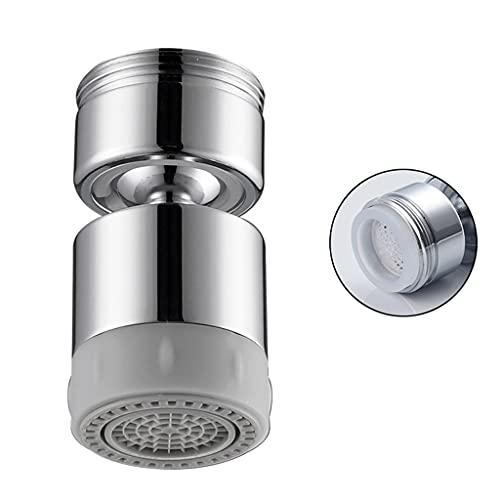 WZLDP Grifo de Doble función, aireador a Prueba de Salpicaduras, Accesorios para el Grifo de la Cuenca de la Cocina, Boca de Filtro Giratorio Universal Filtro de Agua de Salpicadura (Color : Type F)