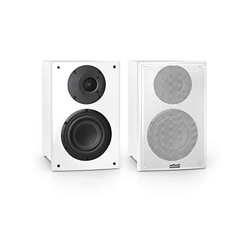 Nubert nuVero 30 Dipollautsprecherpaar   Lautsprecher für Heimkino & HiFi   Musikgenuss auf höchstem Niveau   Passive Surroundboxen mit 2 Wegen Made in Germany   Kompaktlautsprecher Weiß   2 Stück