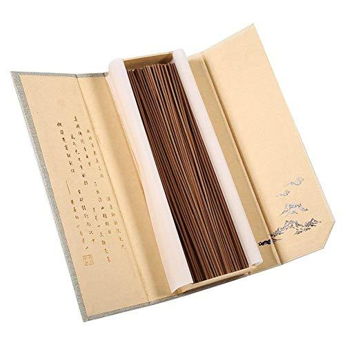 180Pcs / Paket Orientalischen Buddha Buddhistischen Aroma Natur Räucherstäbchen mit Fall Sandelholz für Multifunktionsgebrauch(#2)