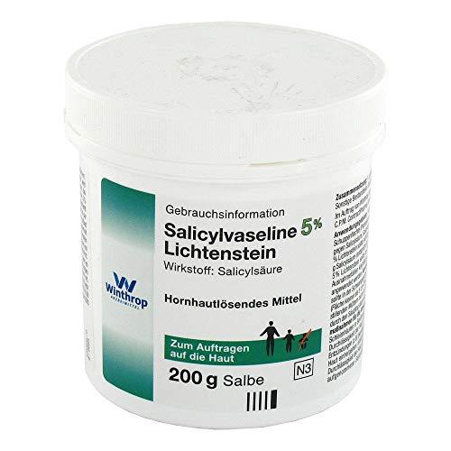 SALICYLVASELINE 5% Lichtenstein 200 g