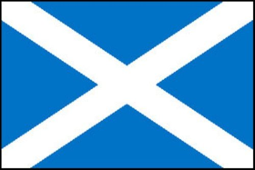 Flag Bunting (8 pieds, le papier de qualité) - St Andrews Cross [Jouet]