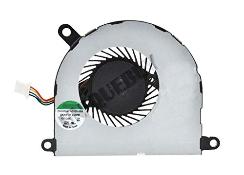 HuiHan Reemplazo para HP Probook 430 G2 430G2 ventilador de refrigeración para CPU portátil 768199-001
