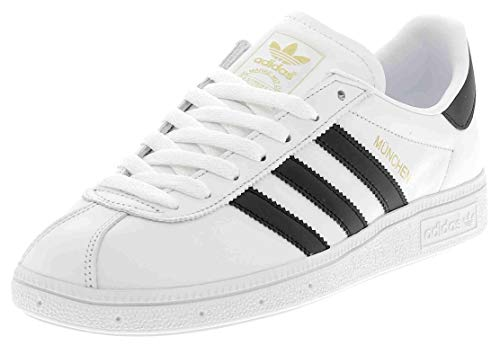 adidas - Munchen - BY1725 - Color: Black-White - Size: 12.0