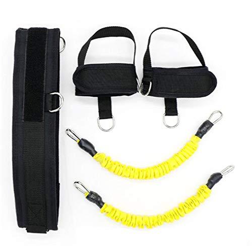 FGFGG Equipo de entrenamiento de salto vertical, juego de dispositivos de entrenamiento de rebote y bandas de resistencia, para entrenamiento de fuerza