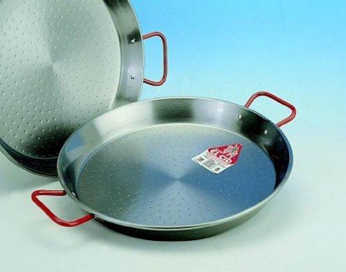 Garcima 16-Inch Carbon Steel Paella Pan, 40cm