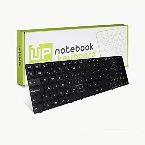 Up Parts - Tastiera per Asus K50C, K50IJ, P50IJ, X5DIJ, K50K70, in lingua spagnola