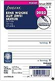 Filofax Pocket 1 settimana su 2 pagine verticali (tedesco) 2022, 22-68240