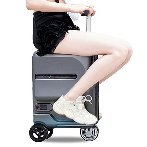 Inteligente conducción de scooters Maleta, Maleta plegable eléctrico extraíble con equipaje banco de la energía de la batería, eléctrico equipaje Vespa, for el aeropuerto Business School, cargando 100