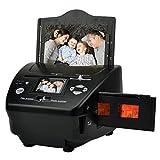 Escáner de negativos y diapositivas Escáner de diapositivas, 16 millones de píxeles de 35 mm de película negativa Tarjeta de visita Photo Scanner 135 escáner de película positiva y la negativa de pelí