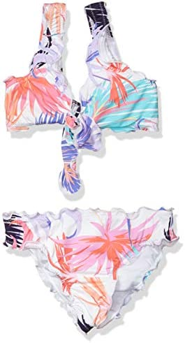Hobie Girls Big Bralette Top and Hipster Bikini Bottom Swimsuit Set Multi in The Mix 7 product image
