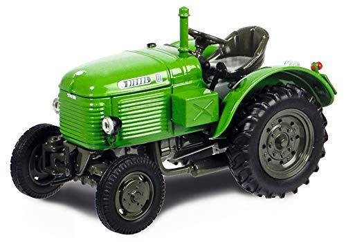 Schuco 452634600 452634600-Steyr Diesel Typ 180 1:87, Modellauto, Modellfahrzeug, grün
