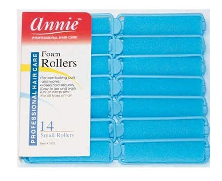 Set of Foam Hair Rollers- small size pack 14. Brand New in Packet. by Top Brand