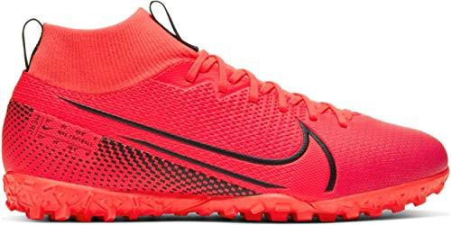 Nike Superfly 7 Academy TF, Botas de fútbol Unisex niños, Rotulador láser Crimson Black Laser Crim 606, 34.5 EU