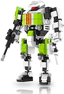 MyBuild Mecha Frame Puma Team Building Toy Wonderful Articulation Moving Joints All Bricks Compatible with Other Major Brands PUMATEAM