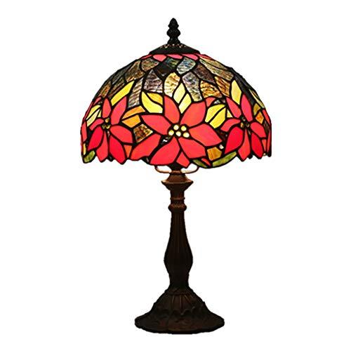 Beautiful lighting city/Tiffany Européenne Dimming Creative Rétro Nostalgique Lampe De Table Pour Chambre Table De Chevet Bar Restaurant Tea House 10 Pouces