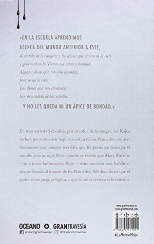 Resumen del libro de Victoria Aveyard LA REINA ROJA