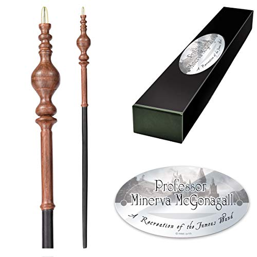 The Noble Collection Proffesor Minerva McGonagall Varita de personaje