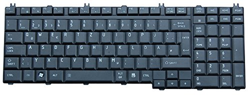 NExpert deutsche QWERTZ Tastatur Toshiba Satellite Pro S500 Serie DE Neu Matt