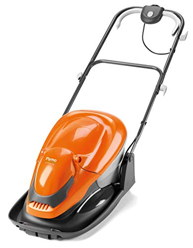 Flymo EasiGlide 300 Hover Collect Lawn Mower - 1700W Motor, 30cm Cutting Width, 20 Litre Grass Box, Folds Flat, 10m Cable Length