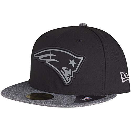 New Era 59Fifty Cap - New England Patriots schwarz - 7 3/8
