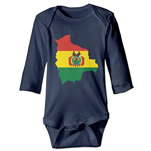 Klotr Mameluco Beb, Bolivia Pijama de Algodn Mameluco Nias Nios Pelele Mono Manga Larga Trajes